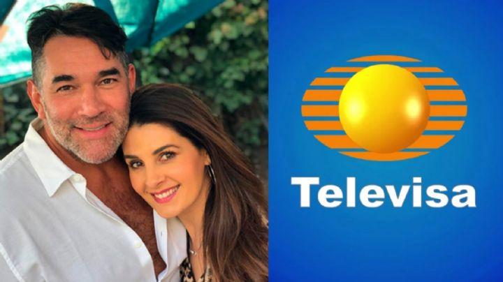 ¡Golpe a Santamarina! Desde Televisa, exhiben 'infidelidad' de Mayrín Villanueva con galán casado