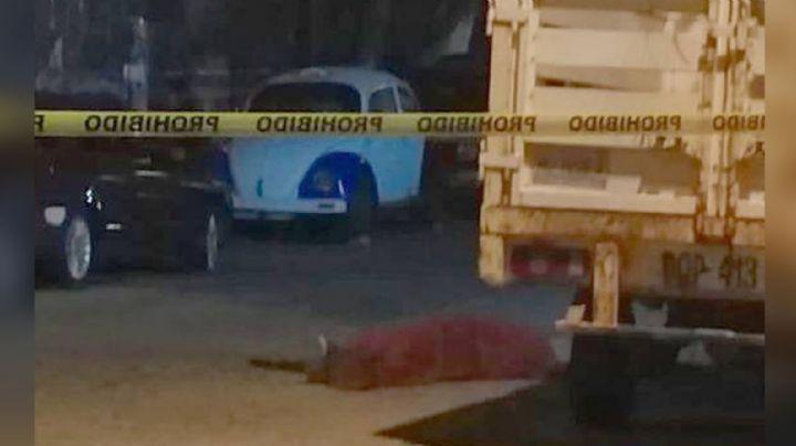 Comando armado intercepta y asesina a balazos a un hombre por calles de Acapulco