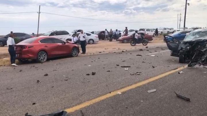 Brutal accidente en carretera de Sonora: Registran 3 víctimas tras colisión de autos