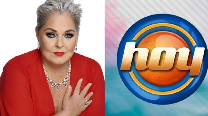 ¿Murió Lupita D'Alessio? Tras pleito con Legarreta en Televisa, filtran terrible noticia en 'Hoy'
