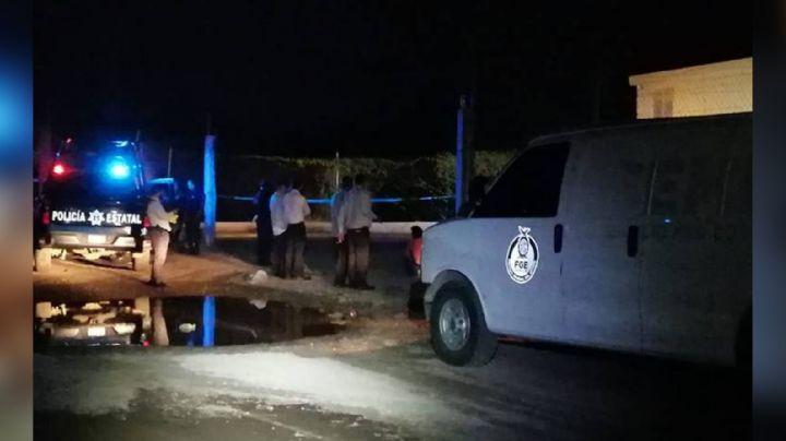 Horror en Culiacán: Con balazos y puñaladas, dejan 'encobijado' en estacionamiento