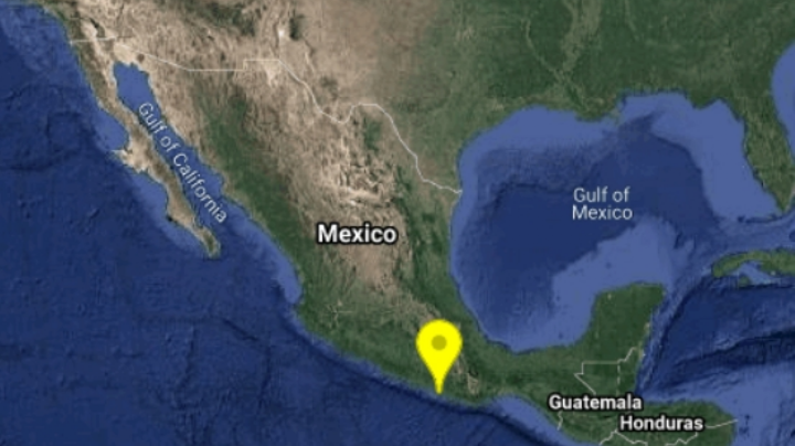 Se registra sismo de magnitud 4.1 en Pinotepa Nacional, Oaxaca, informó el SSN
