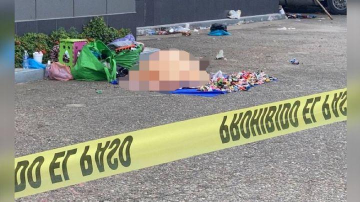 Vendedor de artesanías es ejecutado a tiros en estacionamiento de supermercado