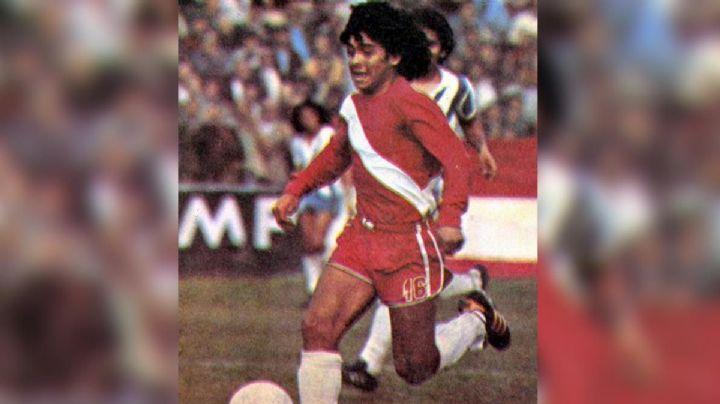 Un 'caño' a la historia; a 45 años del debut de Diego Armando Maradona