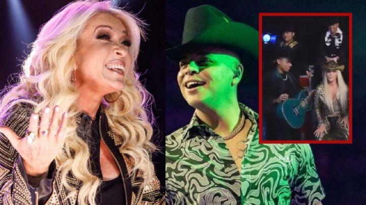 Grupo Firme y Yuri revelan adelanto de colaboración; la cantante celebra 40 años de carrera