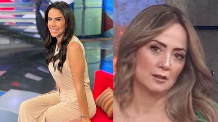 """Paola Rojas se luce de lo más coqueta desde Televisa y posa muy juntita con Erik Rubín: """"Ay Dios"""""""