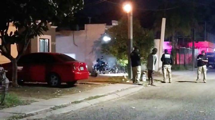 Cajeme: De varios disparos, sicarios le arrancan la vida a joven frente a domicilio