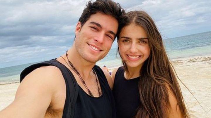 """¡Shock en Televisa! Michelle Renaud se confiesa sobre 'embarazo' con Danilo Carrera: """"Estoy feliz"""""""