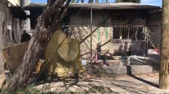 Incendio consume domicilio en la colonia Fovissste de Hermosillo; habría sido provocado