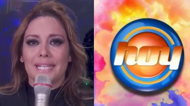 Tras 22 años en Televisa e irse a 'VLA', actriz rompe en llanto y suplica que no la corran de 'Hoy'