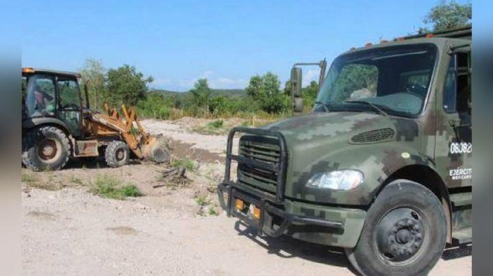 Mazatlán: Localizan fosa clandestina en predio abandonado; había por lo menos un cuerpo