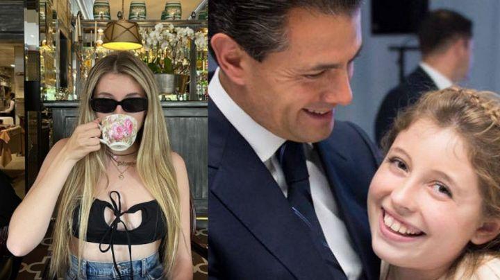 """Regina, hija menor de Angélica Rivera, derrite a Instagram con fascinante 'look': """"Cuero de mujer"""""""