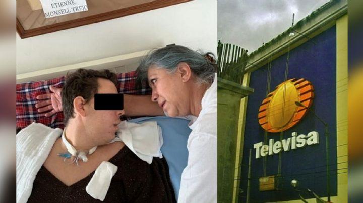 Tras quedar desempleada, exactriz de Televisa pide ayuda para sacar adelante a su hermano enfermo