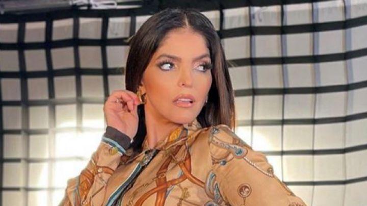 A sus 50 años, Ana Bárbara impacta al aparecer en televisión con coqueto vestido traslúcido