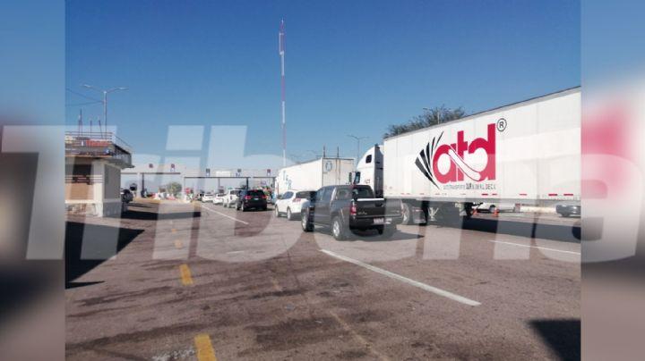Transportistas se quejan de los cobros elevados en las casetas de Sonora