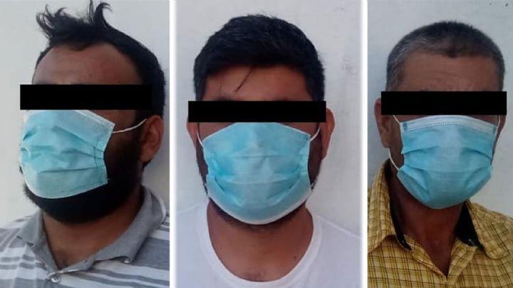 Por posesión de arma de fuego, tres hombres son detenidos en la carretera Altar-Sáric