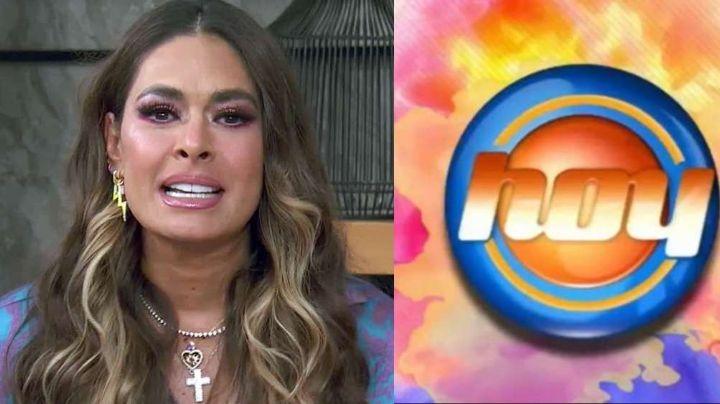 ¿Adiós Televisa? Ahogada en llanto, Galilea Montijo da dura noticia tras 14 años en 'Hoy'
