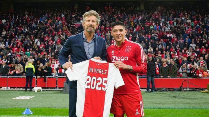 Hay 'Machín' para rato: El mexicano Edson Álvarez extiende su contrato con el Ajax