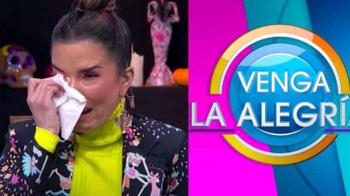 Tras 8 años en Televisa y unirse a 'Hoy', Laura G rompe en llanto en vivo ¿y renuncia a 'VLA'?