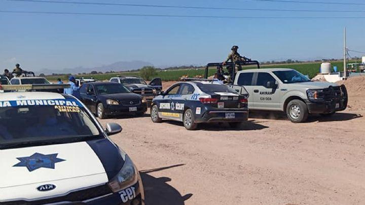 Valle del Yaqui: Enfrentamiento deja tres sicarios abatidos, cuatro detenidos y un herido