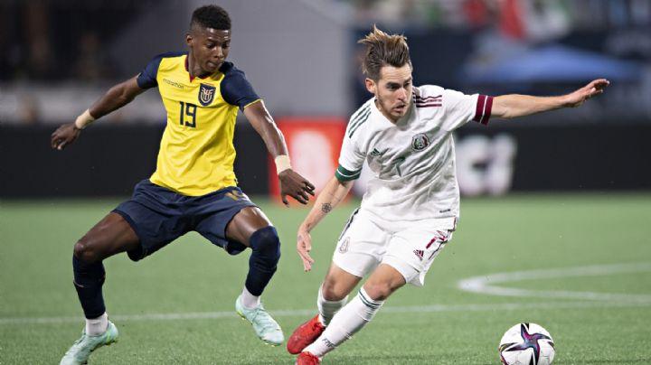 El Tri paga la novatez; México cae ante Ecuador en partido amistoso