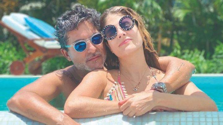 Tras dejar Televisa, 'El Negro' Araiza le dedica romántico mensaje a su novia 20 años menor