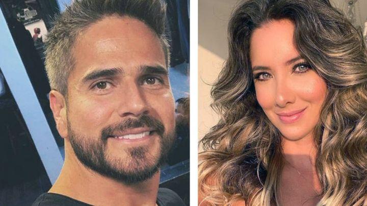 ¡Ya no lo esconden! Actor de Televisa le da tremendo a beso a su novia, exMiss Colombia