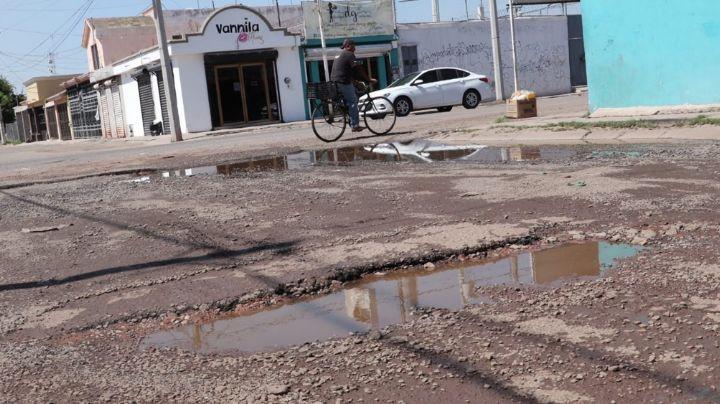 Ciudad Obregón: Vecinos de Villa Fontana se ven afectados por estancamiento de agua
