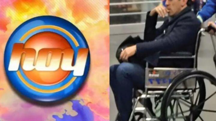 Adiós TV Azteca: Tras quedar en silla de ruedas y subir 20 kilos, galán de Televisa llega a 'Hoy'