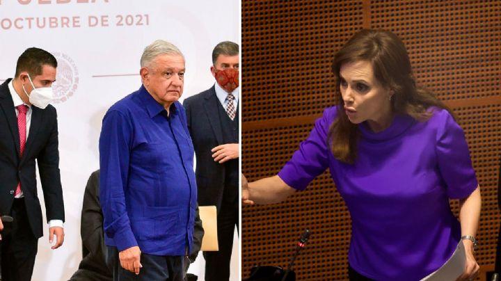 ¡Escándalo! Tras llamar a 'enfrentar' a AMLO en el Senado, Lilly Téllez denuncia amenazas