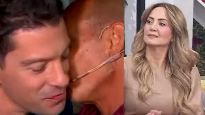 Tras besarse al aire, actor de Televisa va a 'Hoy' y le dice la verdad a Legarreta sobre Erik Rubín