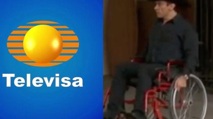 Luto en Televisa: Tras quedar en silla de ruedas y kilos de más, galán da trágica noticia en 'Hoy'