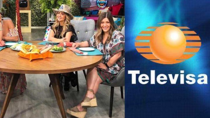 """Conductora de 'Hoy' confiesa al aire que productora de Televisa la corrió: """"Qué falta de respeto"""""""