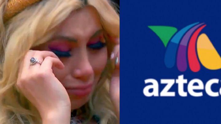 ¿Se va a Televisa? Tras cirugías, corren a famosa conductora de TV Azteca y rompe en llanto