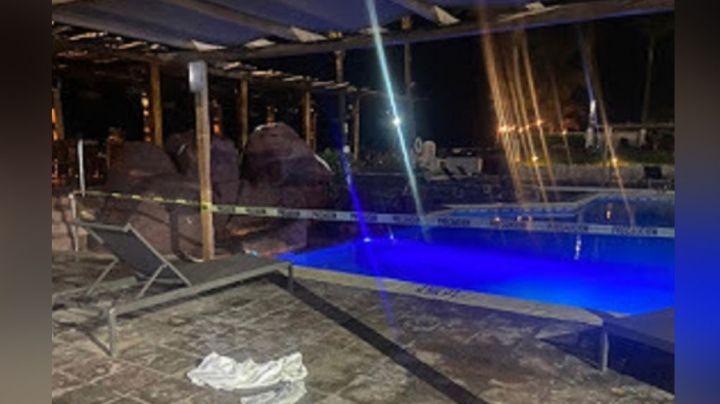 Lamentable: Menor pierde la vida tras caer por accidente a la alberca de un hotel