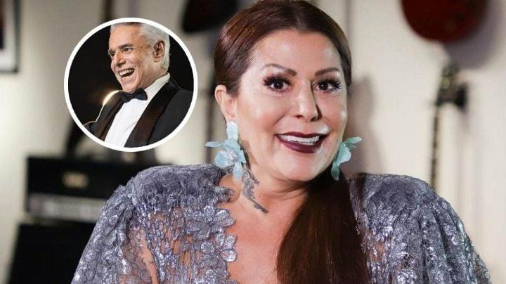 VIDEO: Alejandra Guzmán sorprende a su padre al cantarle 'Las Mañanitas' en televisión