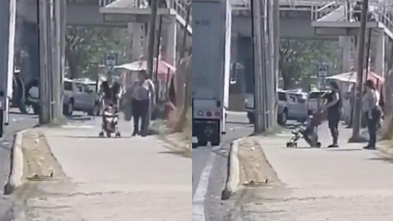 FUERTE VIDEO: A plena luz del día, despiadados sicarios 'levantan' a hombre en segundos