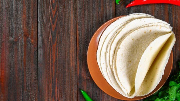 Del comal a tu boca: Aprende a preparar unas ricas tortillas de harina caseras