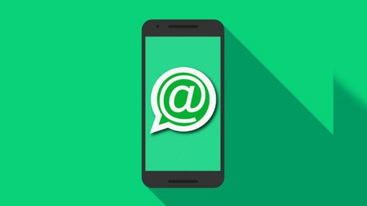 WhatsApp: Esta es la razón por la que te aparece la notificación del 'arroba'