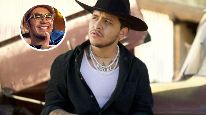 """Decían mier... de mi relación"": Nodal explota contra TV Azteca; explica porqué bloqueó al 'Capi'"