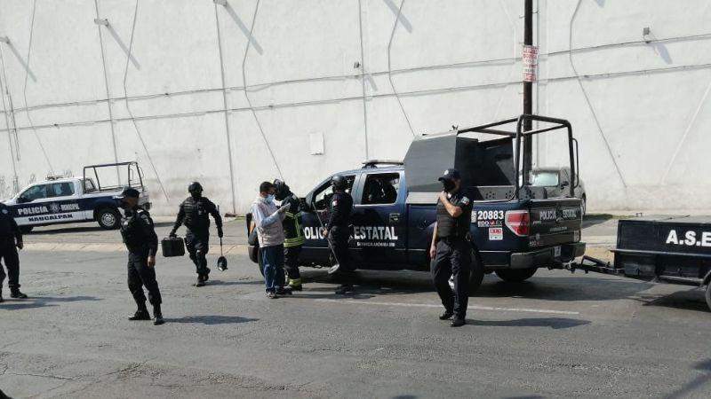 Amenaza de bomba desata el pánico en oficinas de Oapas en Edomex; empleados son desalojados