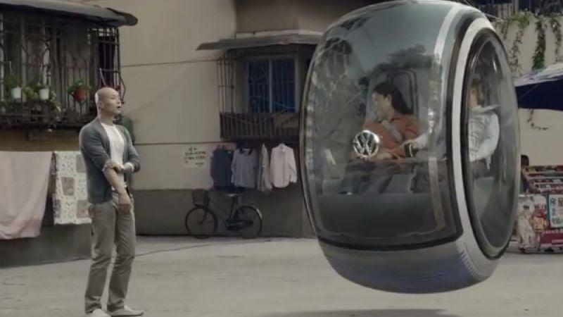¡Insólito! La empresa Volkswagen quiere crear autos voladores en los próximos años