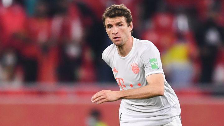 Bayern sufre otra baja previo al duelo ante Tigres; Thomas Muller tiene Covid-19