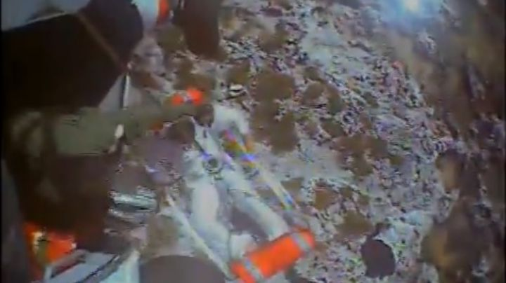 VIDEO: Rescatan a tres cubanos que sobrevivieron 33 días en una isla desierta; comían ratas