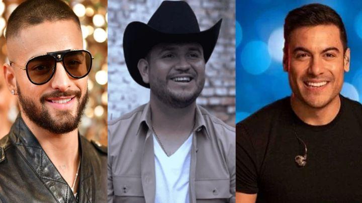 VIDEO: Vocalista de Calibre 50 revela parte del tema con Maluma y Carlos Rivera