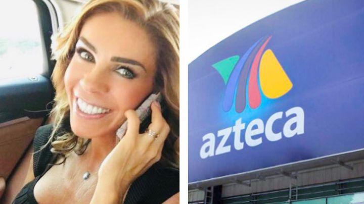 Rocío Sánchez Azuara: Tras despido de Televisa, vuelve y promete hundir a TV Azteca