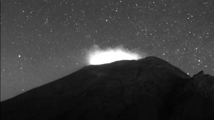 Popocatépetl cierra la semana con 61 exhalaciones y un sismo