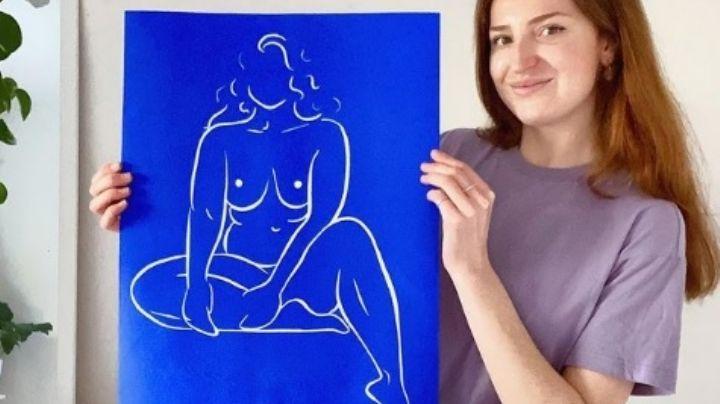 Empezó como un hobby: Mujer deja su trabajo en Marketing para dedicarse a pintar