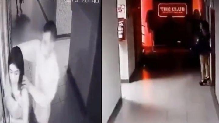 FUERTE VIDEO: Captan el brutal asesinato de Isis en bar; exbasquetbolista la degolló