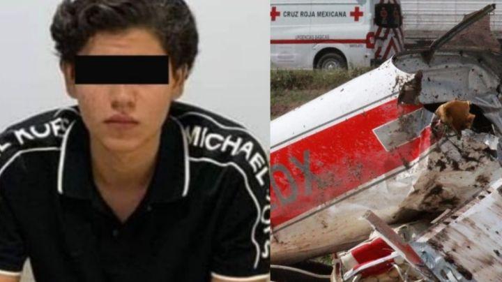 Filtran fotos del cadáver del nieto de 'El Señor de los Cielos' tras morir en brutal avionazo
